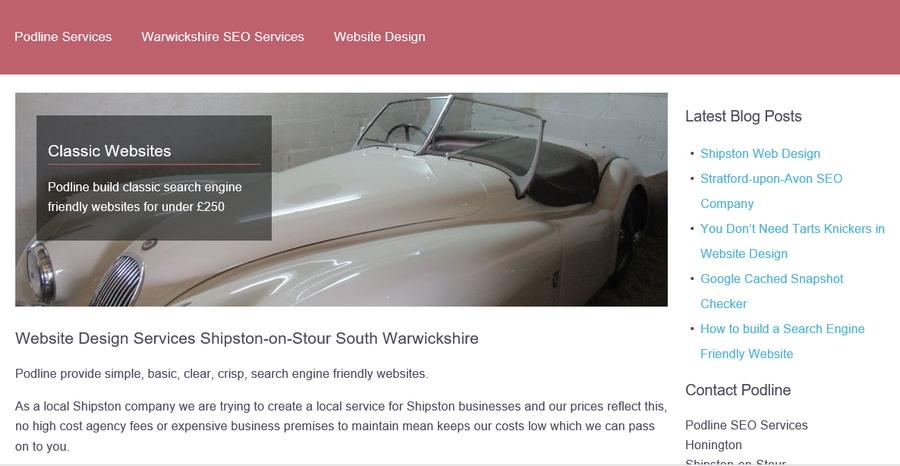 Cotswold Website Design
