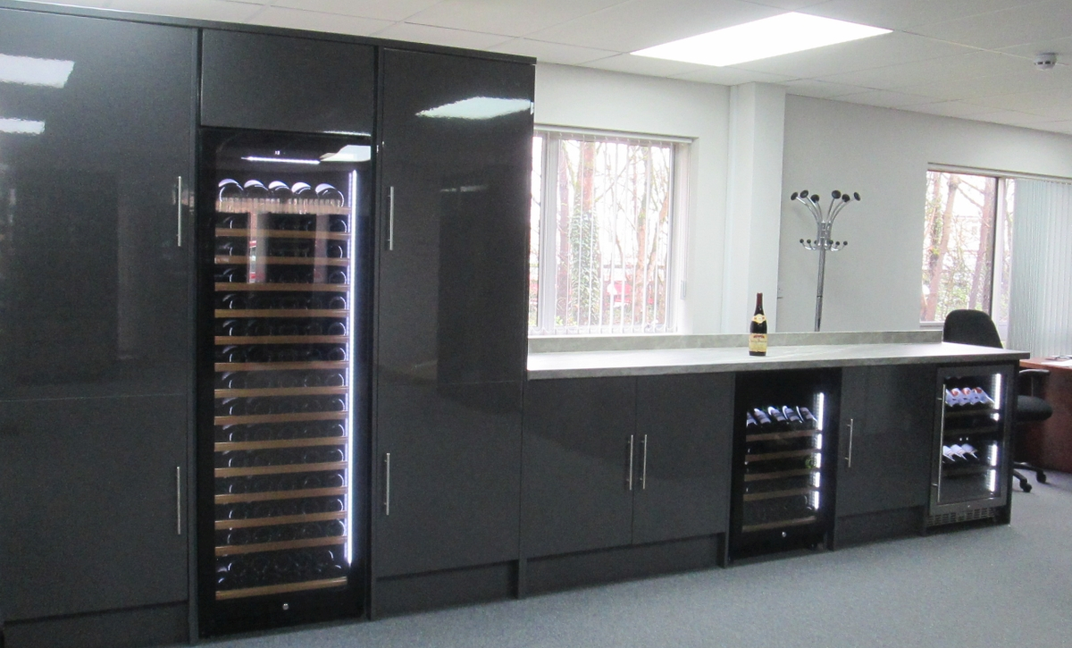 Wine Cooler Showroom